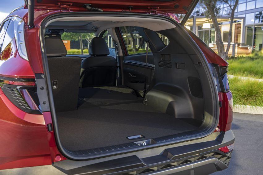 2022 Hyundai Tucson – USA gets LWB, hybrid, PHEV Image #1206414