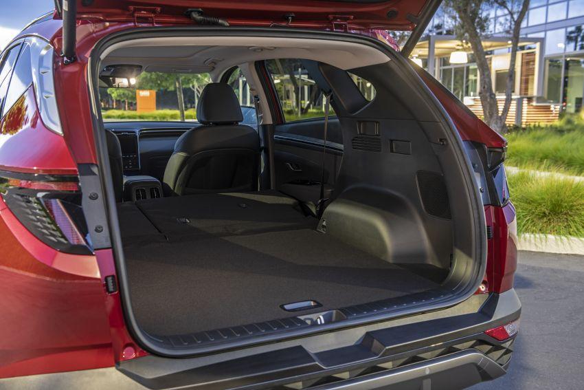 2022 Hyundai Tucson – USA gets LWB, hybrid, PHEV Image #1206417