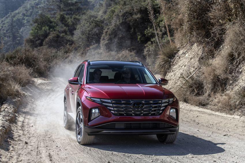 2022 Hyundai Tucson – USA gets LWB, hybrid, PHEV Image #1206341