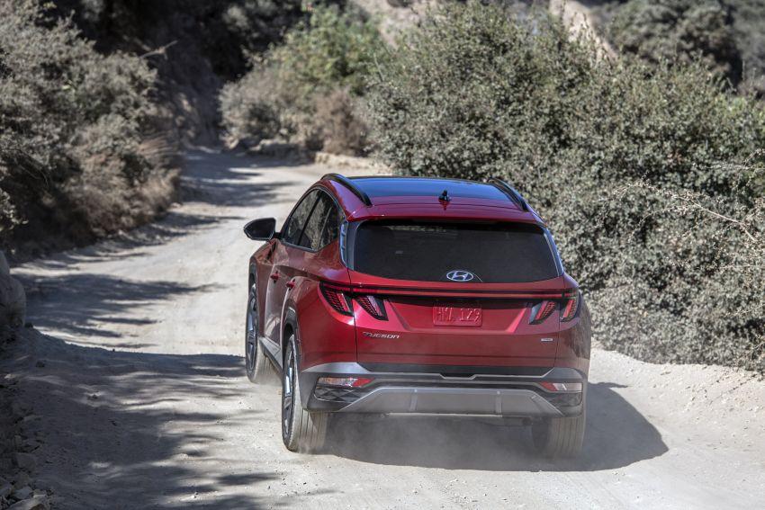 2022 Hyundai Tucson – USA gets LWB, hybrid, PHEV Image #1206342