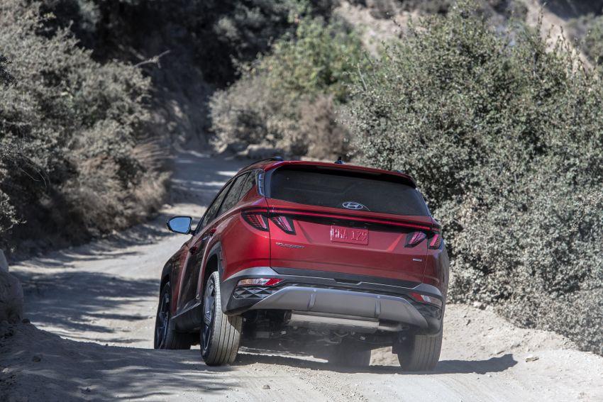 2022 Hyundai Tucson – USA gets LWB, hybrid, PHEV Image #1206344