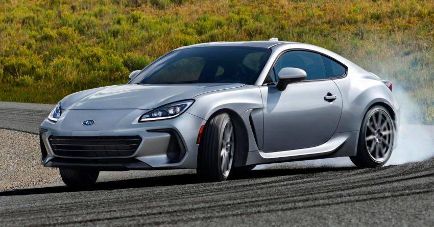 2022 Subaru BRZ debuts – redesigned second-gen sports car gets a 2.4L boxer engine; 228 hp, 249 Nm Image #1212765
