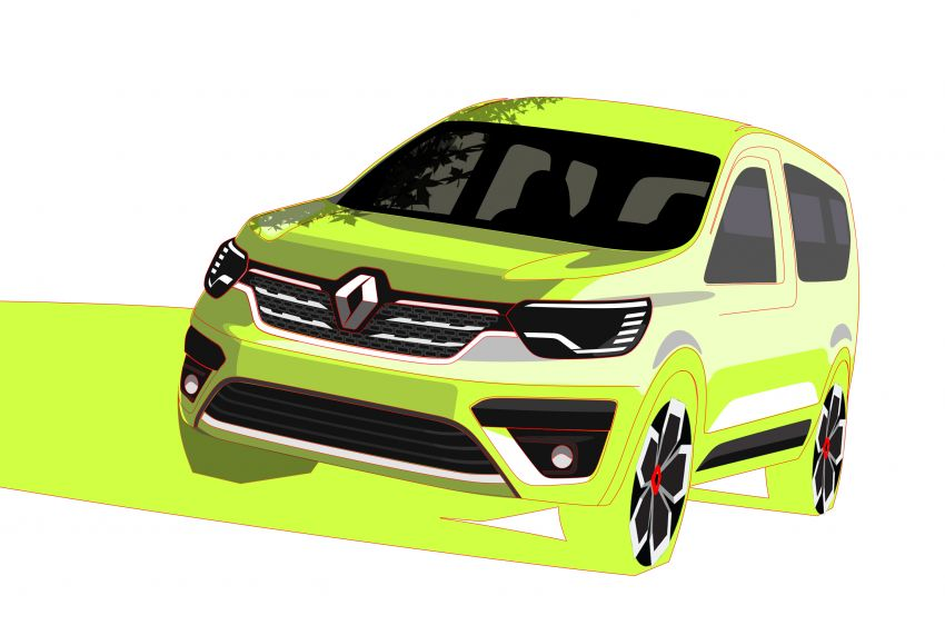 Renault Kangoo, Express debuts – new-generation commercial and passenger van range on sale 2021 Image #1209521