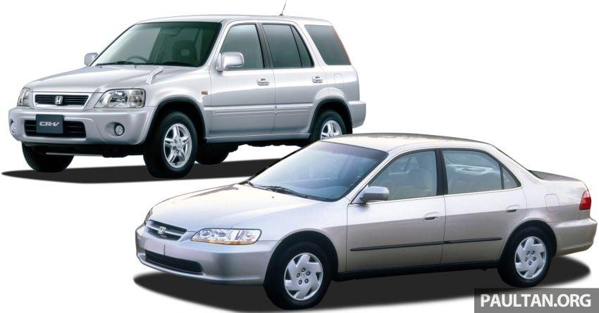 1999 Honda Accord, 2000 CR-V recalled in Malaysia over Takata driver airbag – 2,784 vehicles involved Image #1217739