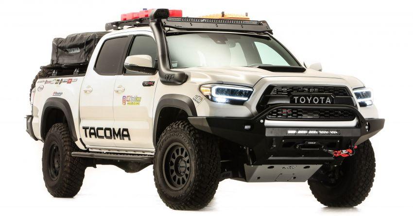 Toyota reveals modified GR Supras, Tacoma for SEMA Image #1203638
