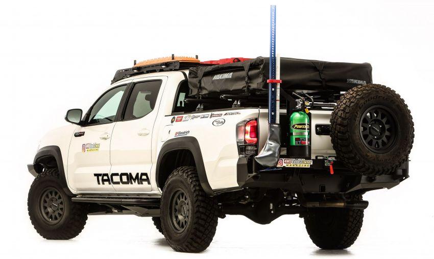Toyota reveals modified GR Supras, Tacoma for SEMA Image #1203639
