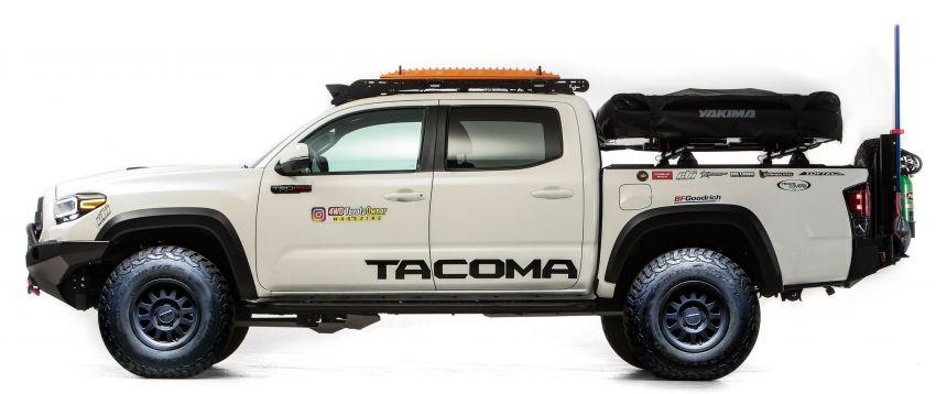 Toyota reveals modified GR Supras, Tacoma for SEMA Image #1203641
