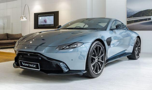Aston Martin Vantage Dark Knight Edition For Malaysia Paultan Org