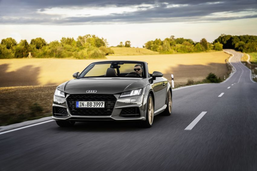 Audi TT Coupe and Roadster 'bronze selection' edition Image #1216082