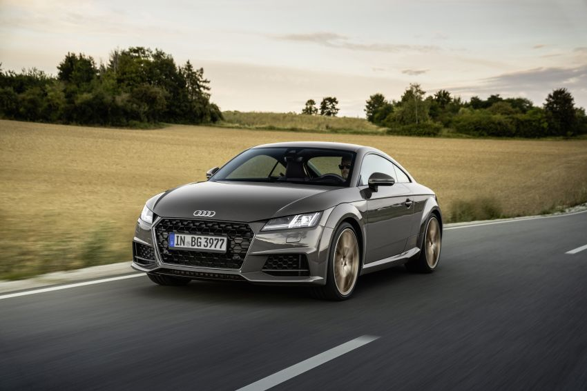 Audi TT Coupe and Roadster 'bronze selection' edition Image #1216091
