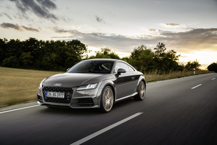 Audi TT Coupe and Roadster 'bronze selection' edition Image #1216094