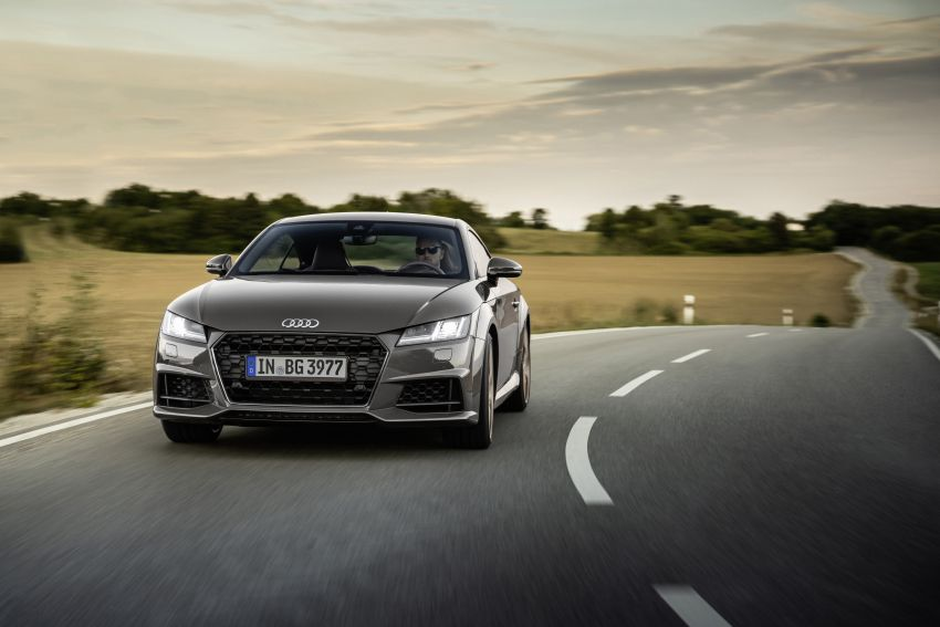 Audi TT Coupe and Roadster 'bronze selection' edition Image #1216095