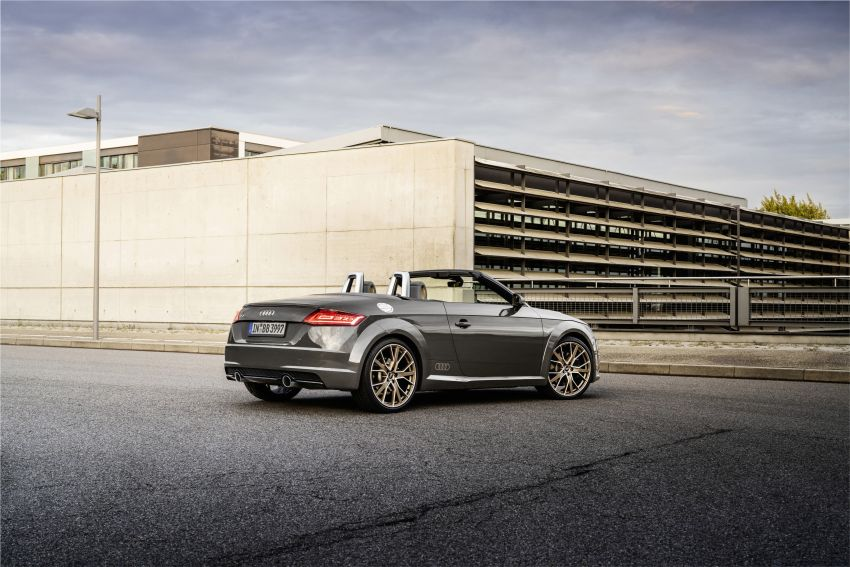 Audi TT Coupe and Roadster 'bronze selection' edition Image #1216096