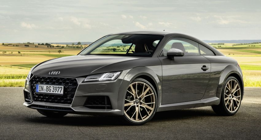 Audi TT Coupe and Roadster 'bronze selection' edition Image #1216098