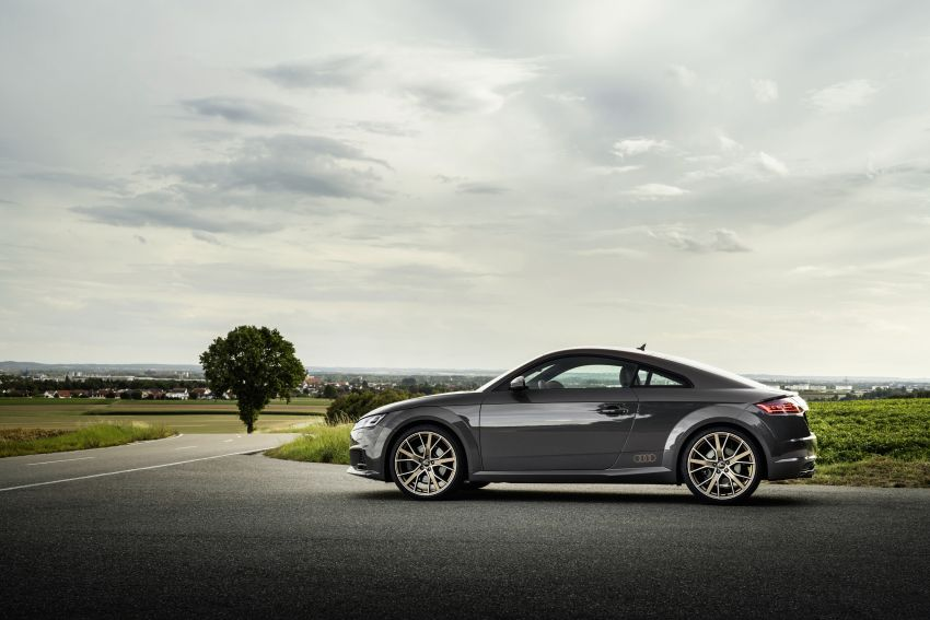 Audi TT Coupe and Roadster 'bronze selection' edition Image #1216100