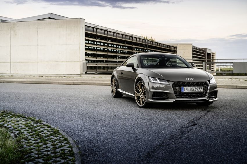 Audi TT Coupe and Roadster 'bronze selection' edition Image #1216101