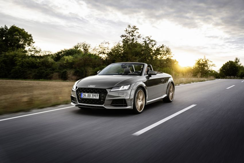 Audi TT Coupe and Roadster 'bronze selection' edition Image #1216083