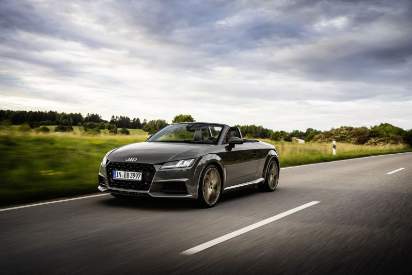 Audi TT Coupe and Roadster 'bronze selection' edition Image #1216084