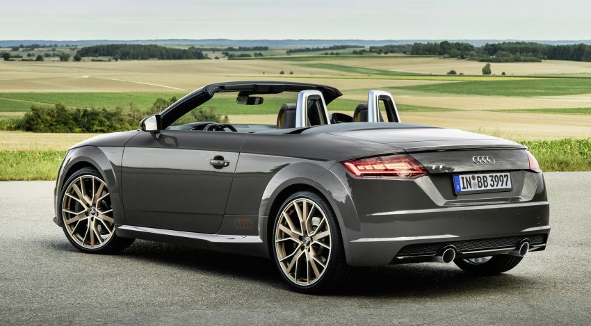 Audi TT Coupe and Roadster 'bronze selection' edition Image #1216085