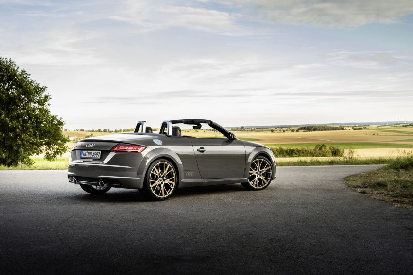 Audi TT Coupe and Roadster 'bronze selection' edition Image #1216087