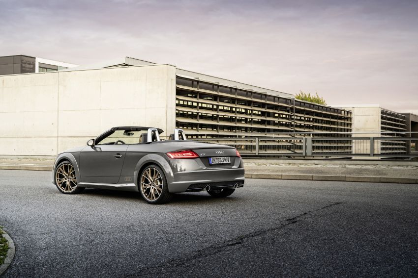 Audi TT Coupe and Roadster 'bronze selection' edition Image #1216088