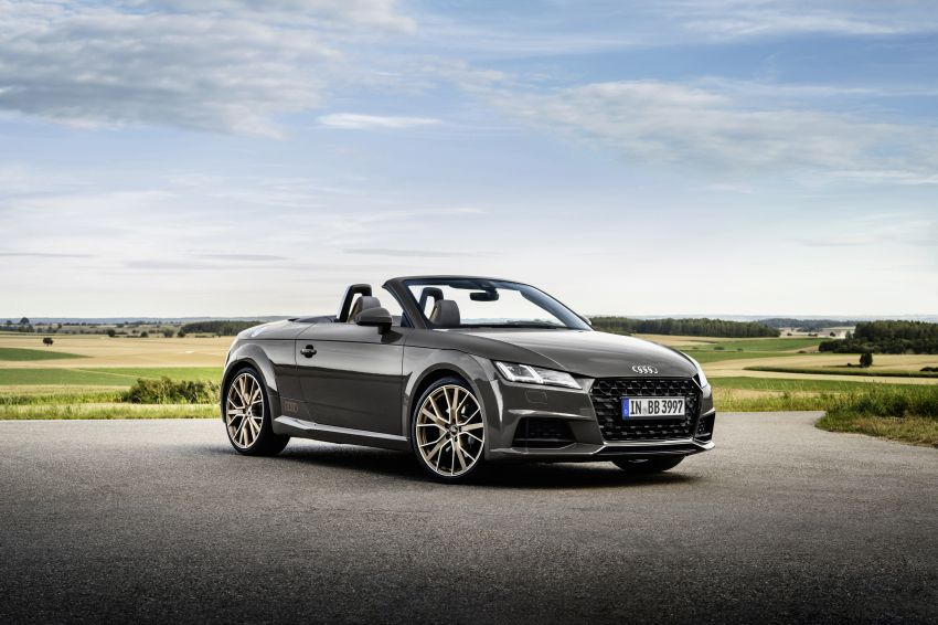 Audi TT Coupe and Roadster 'bronze selection' edition Image #1216089