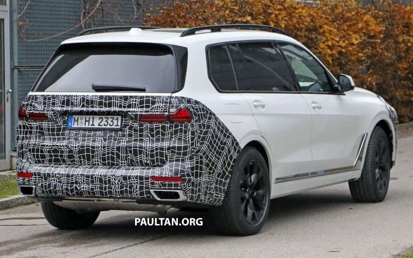 SPYSHOTS: BMW X7 facelift shows radical new look Image #1218465