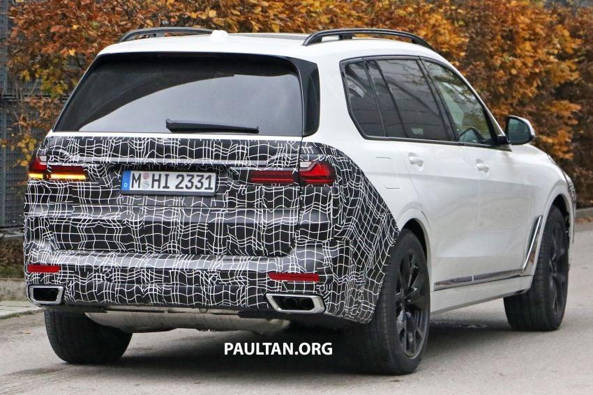 SPYSHOTS: BMW X7 facelift shows radical new look Image #1218466