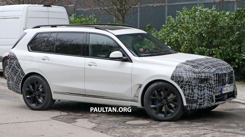 SPYSHOTS: BMW X7 facelift shows radical new look Image #1218460