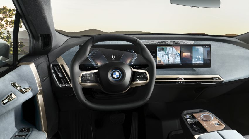 BMW iX revealed – iNEXT electric SUV gets a name and more than 500 PS, 600 km range; coming late-2021 Image #1208205