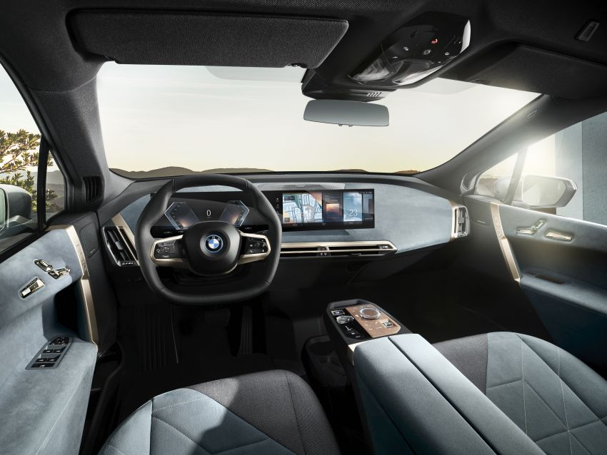 BMW iX revealed – iNEXT electric SUV gets a name and more than 500 PS, 600 km range; coming late-2021 Image #1208207