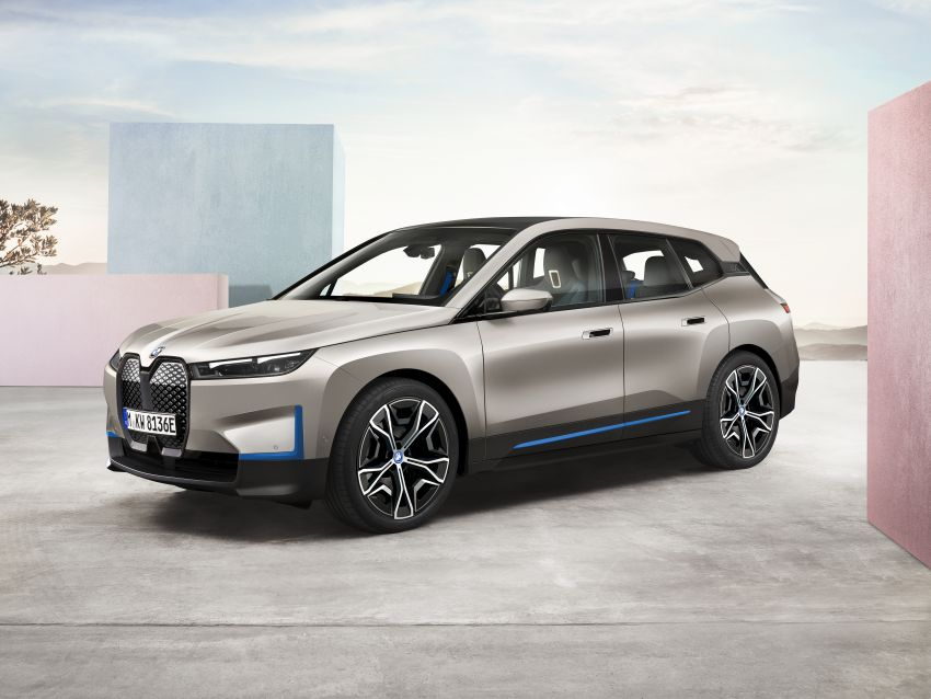 BMW iX revealed – iNEXT electric SUV gets a name and more than 500 PS, 600 km range; coming late-2021 Image #1208193