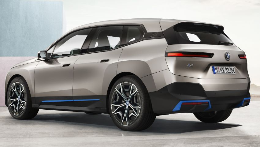 BMW iX revealed – iNEXT electric SUV gets a name and more than 500 PS, 600 km range; coming late-2021 Image #1208196