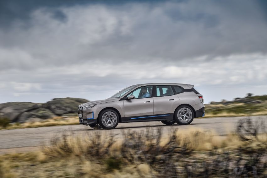 BMW iX revealed – iNEXT electric SUV gets a name and more than 500 PS, 600 km range; coming late-2021 Image #1208253