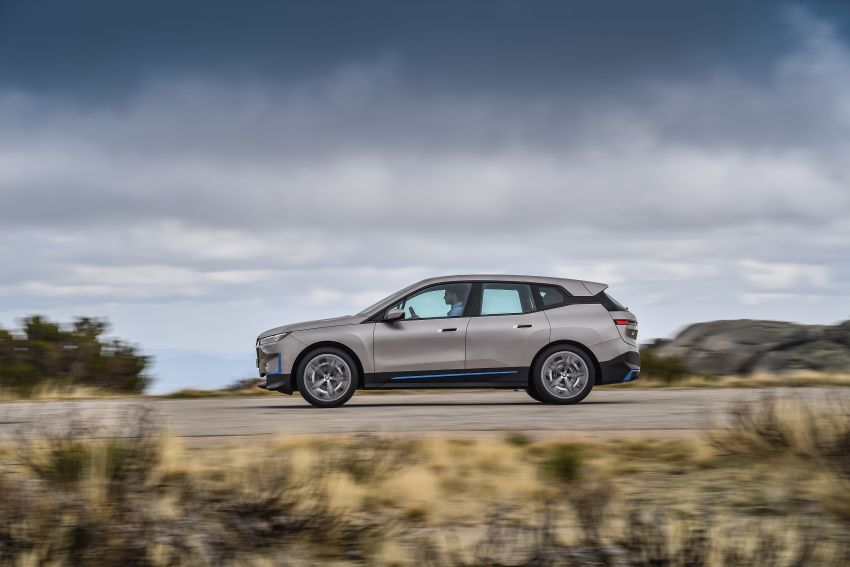 BMW iX revealed – iNEXT electric SUV gets a name and more than 500 PS, 600 km range; coming late-2021 Image #1208255