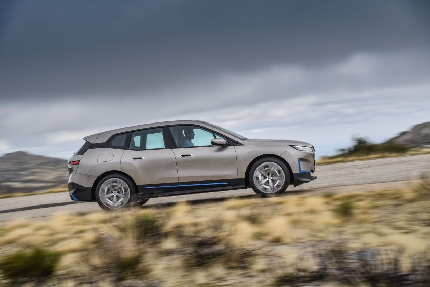 BMW iX revealed – iNEXT electric SUV gets a name and more than 500 PS, 600 km range; coming late-2021 Image #1208256