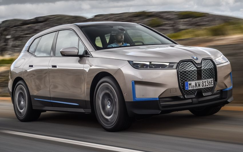 BMW iX revealed – iNEXT electric SUV gets a name and more than 500 PS, 600 km range; coming late-2021 Image #1208260
