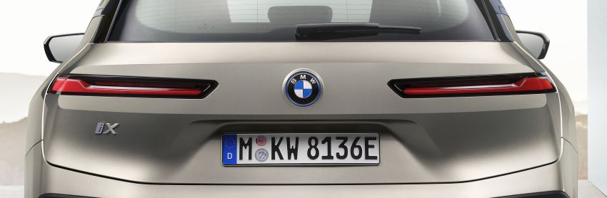 BMW iX revealed – iNEXT electric SUV gets a name and more than 500 PS, 600 km range; coming late-2021 Image #1208200