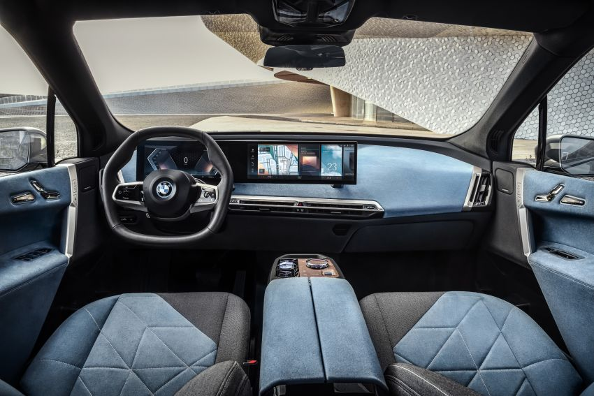 BMW iX revealed – iNEXT electric SUV gets a name and more than 500 PS, 600 km range; coming late-2021 Image #1208268