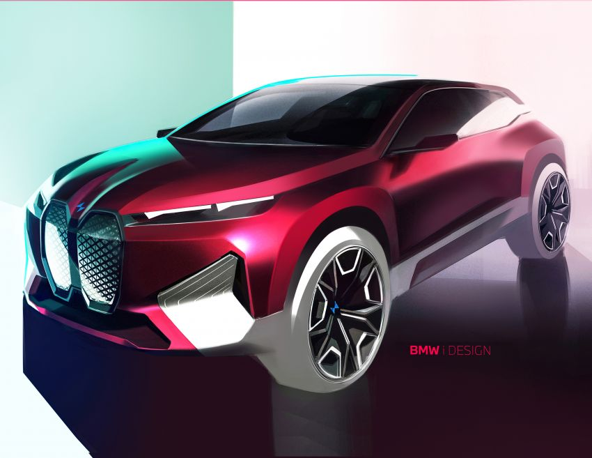 BMW iX revealed – iNEXT electric SUV gets a name and more than 500 PS, 600 km range; coming late-2021 Image #1208282