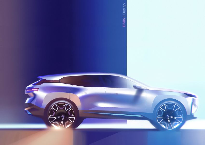 BMW iX revealed – iNEXT electric SUV gets a name and more than 500 PS, 600 km range; coming late-2021 Image #1208284