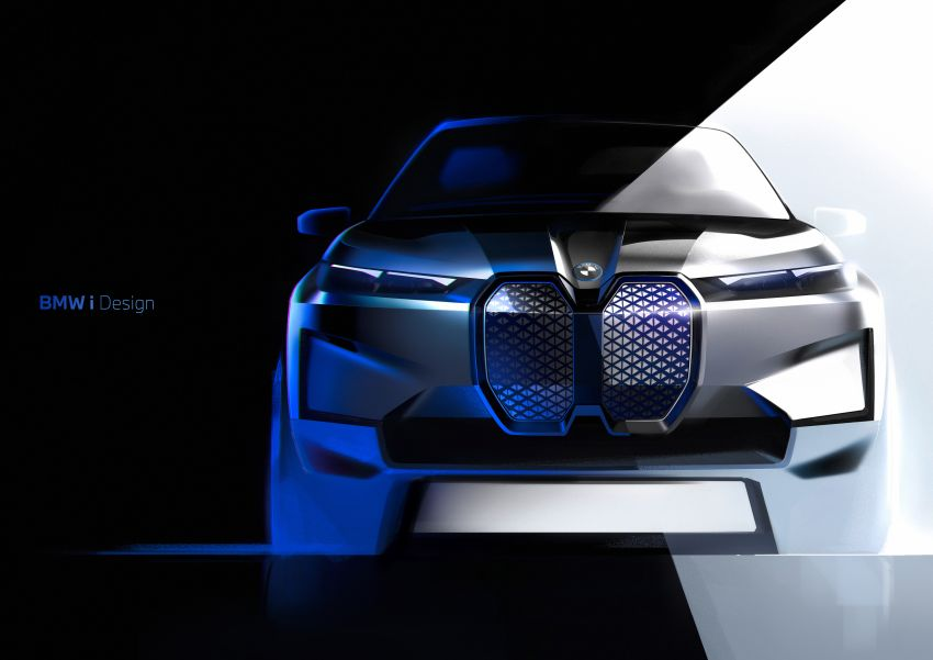 BMW iX revealed – iNEXT electric SUV gets a name and more than 500 PS, 600 km range; coming late-2021 Image #1208286
