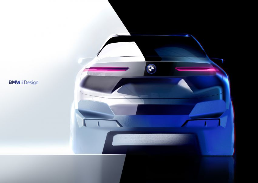 BMW iX revealed – iNEXT electric SUV gets a name and more than 500 PS, 600 km range; coming late-2021 Image #1208287