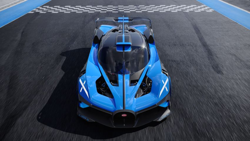 Bugatti Bolide revealed – track-only hypercar with 1,850 PS, 1,240 kg weight, 5:23.1 Nürburgring lap time Image #1202660