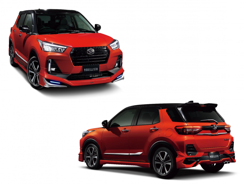 Daihatsu Rocky gets Modellista bodykit, accessories – will the parts fit our upcoming Perodua D55L SUV? Image #1217786