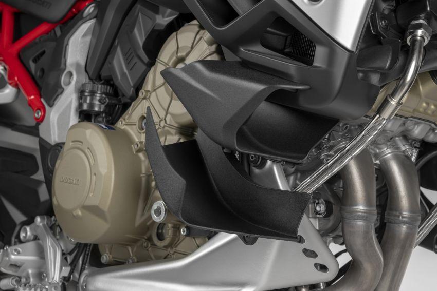 Ducati Multistrada V4, V4S dan V4S Sport diperkenal – enjin V4 Granturismo 170 hp, Adaptive Cruise Control Image #1204513
