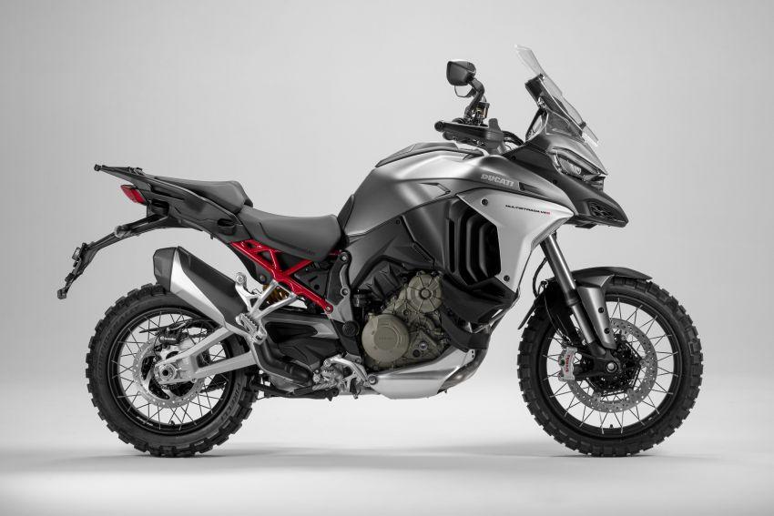 Ducati Multistrada V4, V4S dan V4S Sport diperkenal – enjin V4 Granturismo 170 hp, Adaptive Cruise Control Image #1204520