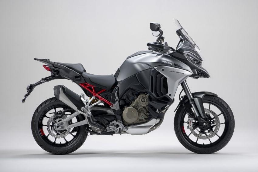 Ducati Multistrada V4, V4S dan V4S Sport diperkenal – enjin V4 Granturismo 170 hp, Adaptive Cruise Control Image #1204491
