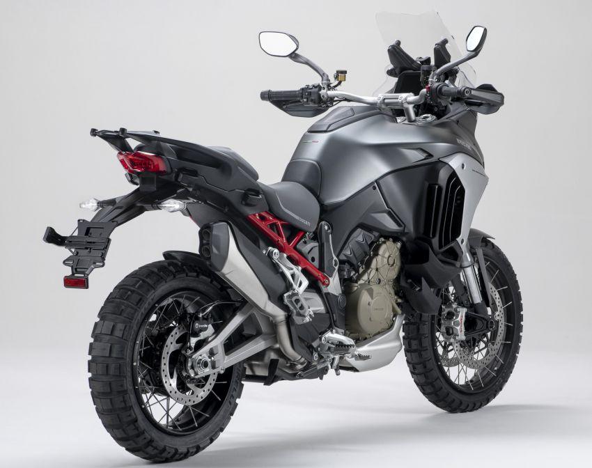 Ducati Multistrada V4, V4S dan V4S Sport diperkenal – enjin V4 Granturismo 170 hp, Adaptive Cruise Control Image #1204525