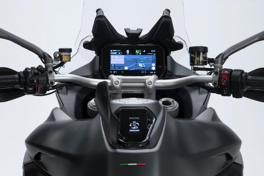 Ducati Multistrada V4, V4S dan V4S Sport diperkenal – enjin V4 Granturismo 170 hp, Adaptive Cruise Control Image #1204528